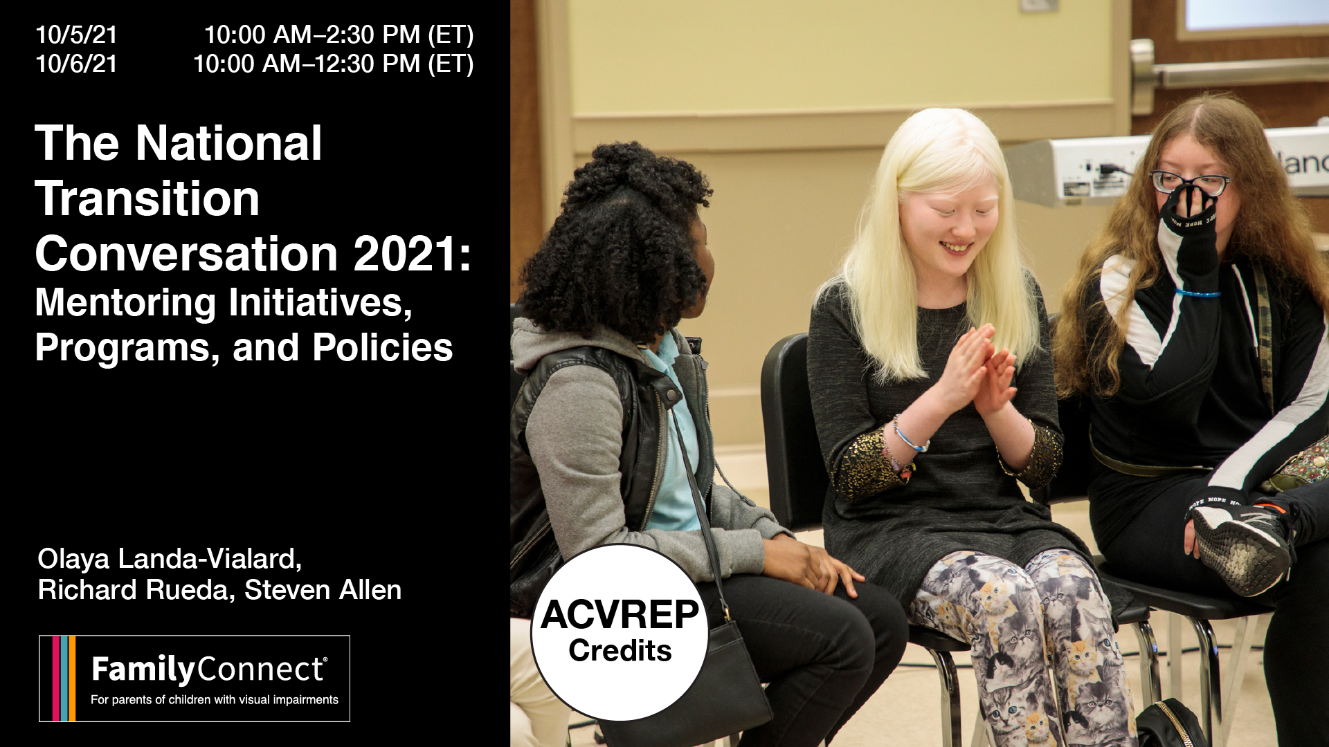 National Transition Conversation 2021 Mentoring Initiatives, Programs and Policies