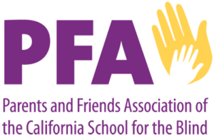 Parents and Friends Association of the California School for the Blind logo